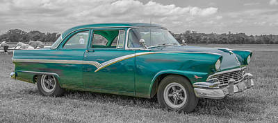 Photograph - Ford Fairlane  7d05219 by Guy Whiteley