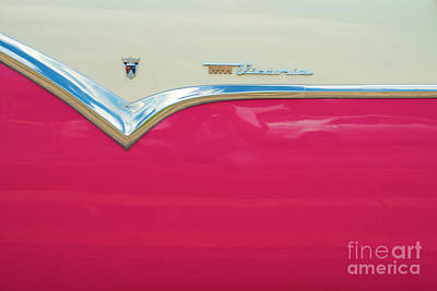 Photograph - Ford Fairlane Crown Victoria Logo by Mark Dodd