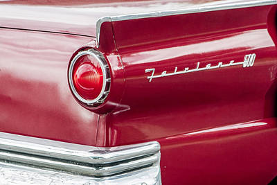 Ford Fairlane Art Print