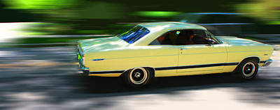 Digital Art - Ford Fairlane by Geoff Strehlow