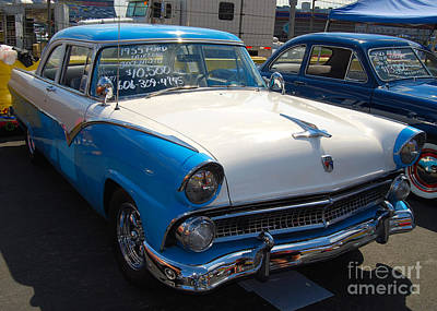 Photograph - Ford Fairlane by Mark Spearman