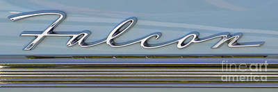 Photograph - Ford Falcon Badge by Mark Spearman
