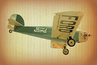 Photograph - Ford Flyer by Laurie Perry