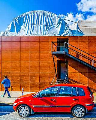 Surreal Reality Photograph - Ford Fusion by Alexander Senin