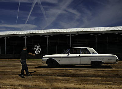 Ford Galaxie 500 6 Art Print by Thomas Young