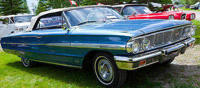 Art Print featuring the photograph Ford Galaxie 520 Xl by Mick Flynn