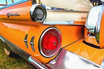 Ford Galaxie Skyliner 9 Art Print