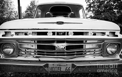 Photograph - Ford Grill by John Rizzuto
