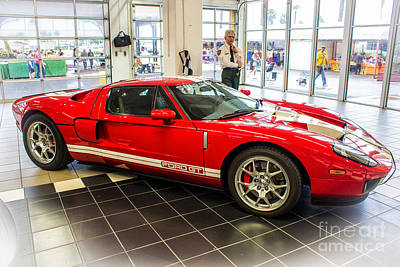 Photograph - Ford Gt 2005-2006 by Rene Triay Photography