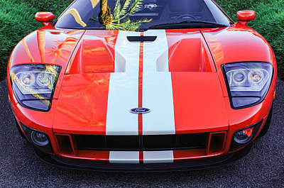 Gt40 Photograph - Ford Gt40 Sports Car -0045c by Jill Reger