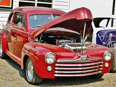 Photograph - Ford Hot Rod 1942 by VLee Watson