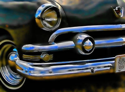 Art Print featuring the photograph Ford Hot Rod by Ron Roberts