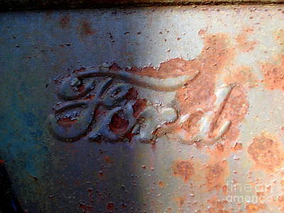 Photograph - Ford Logo 1 by Lew Davis