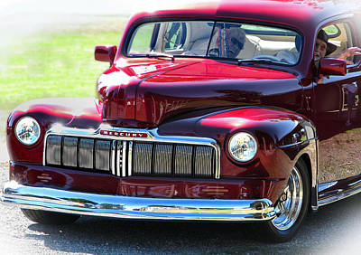Photograph - Ford Mercury Eight by Rory Sagner