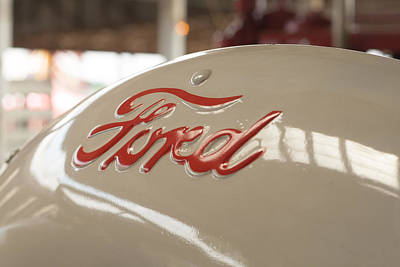 Photograph - Ford by Michael Porchik
