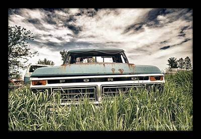 Photograph - Ford by Michaela Preston