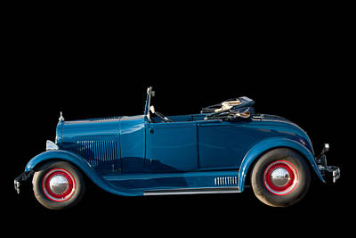 Photograph - Ford Model A Convertible by John Haldane