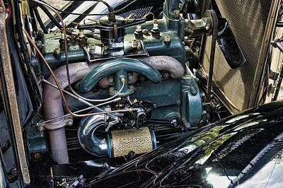 Photograph - Ford Model A Engine by Robert Culver