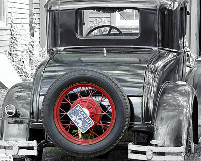 Photograph - Ford Model A by Janice Drew