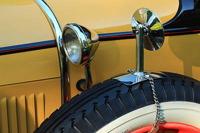 Photograph - Ford Model A by Jim Cotton