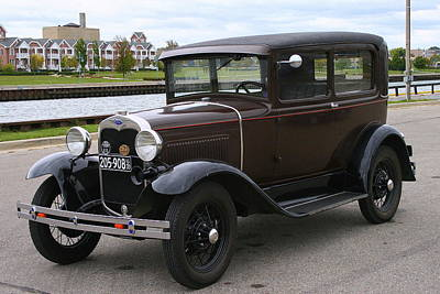 Photograph - Ford Model A  by Kay Novy