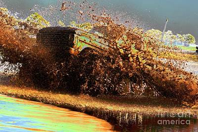 Photograph - Ford Mudder by Lynda Dawson-Youngclaus