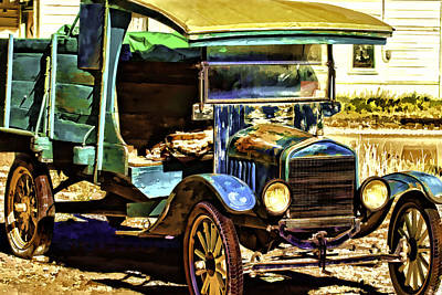 Art Print featuring the painting Ford by Muhie Kanawati