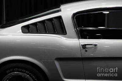 Photograph - Ford Mustang Fastback - 5d20339 by Wingsdomain Art and Photography