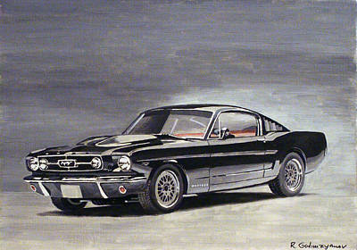 Cars Painting - Ford Mustang by Rimzil Galimzyanov
