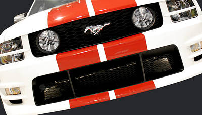 Collectible Sports Art Photograph - Ford Mustang - This Pony Is Always In Style by Christine Till