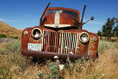 Photograph - Ford On The Palouse No.2 by Daniel Woodrum