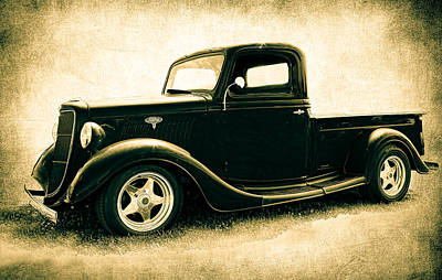 Photograph - Ford Pickup by Athena Mckinzie