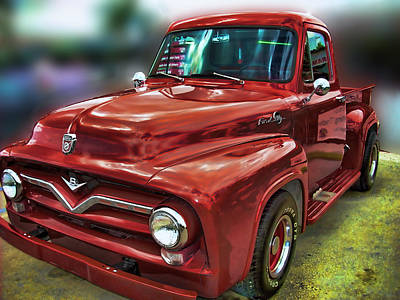 Photograph - Ford Pickup Y1 by Carlos Diaz