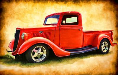 Photograph - Ford Pickup II by Athena Mckinzie