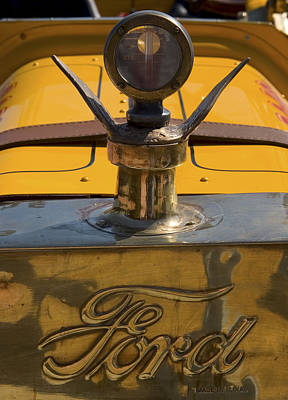 Photograph - Ford Rajo 1915 Radiator Cap by Scott Campbell