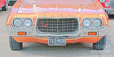 Photograph - Ford Ranchero Grill Hdr  by Terri Waters