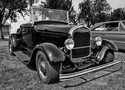 Photograph - Ford Roadster by Ron Roberts
