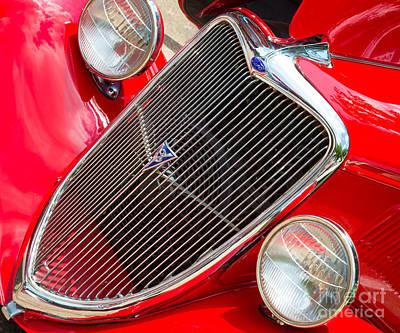 Photograph - Ford Roadster V8 by Inge Johnsson