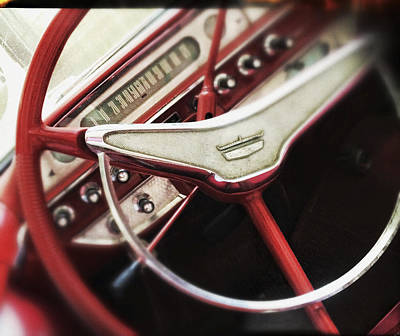 Ford Sunliner Art Print by Bradley R Youngberg