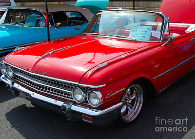 Photograph - Ford Sunliner by Mark Spearman