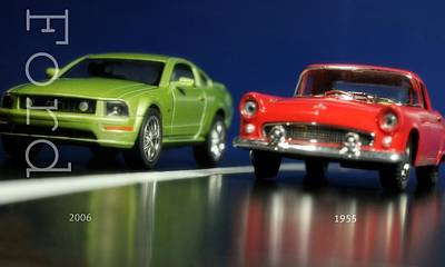 Photograph - Ford Then And Now by Diana Angstadt
