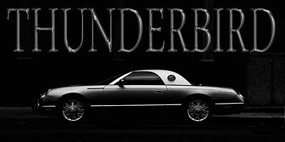 Photograph - Ford Thunderbird 3 by Andrew Fare