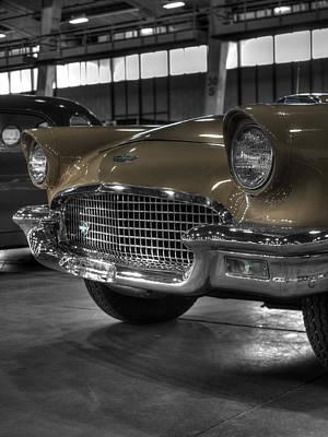 Thunderbird Photograph - Ford Thunderbird Convertible Copper 3 by John Straton