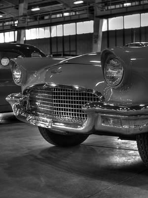 Thunderbird Photograph - Ford Thunderbird Convertible Copper 4 by John Straton