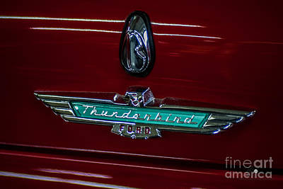 Photograph - Ford Thunderbird by Ronald Grogan