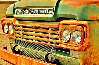Photograph - Ford Tough by Benjamin Yeager
