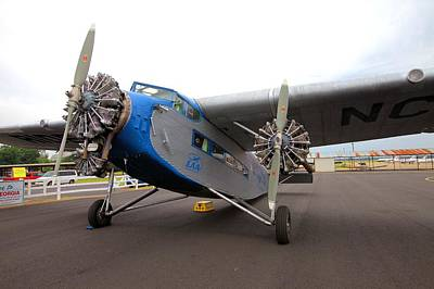 Photograph - Ford Tri-motor by Gordon Elwell