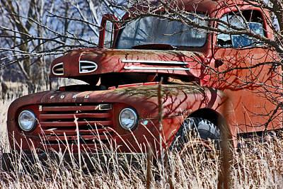 Photograph - Ford Truck  by Jon Baldwin  Art