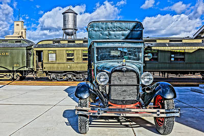 Photograph - Ford Truck by Tom and Pat Cory