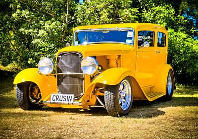 Ford Tudor Photograph - Ford Tudor Hot Rod by motography aka Phil Clark